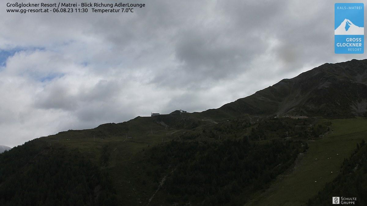 Webcam Skigebiet Großglockner Resort Matrei in Osttirol (2.621m)