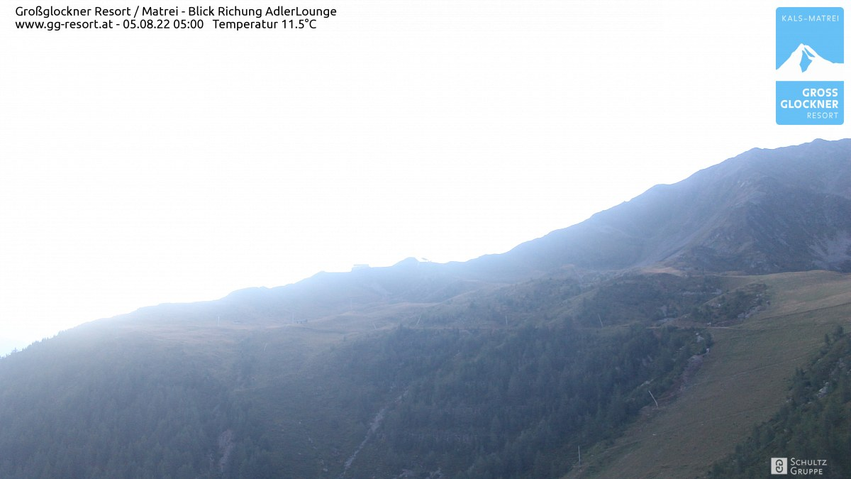 Webcam Skigebiet Großglockner Resort Matrei in Osttirol (2.621m)
