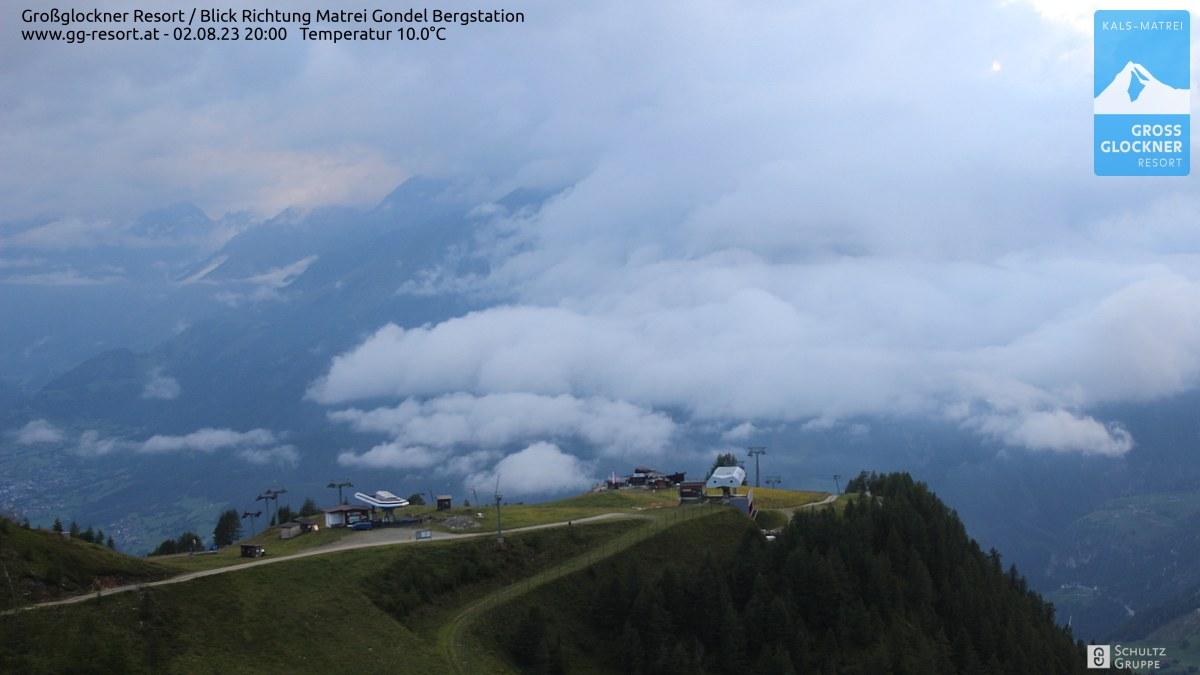 Webcam Großglockner Resort Matrei in Osttirol  Bergstation (2.190 m) © www.gg-resort.at