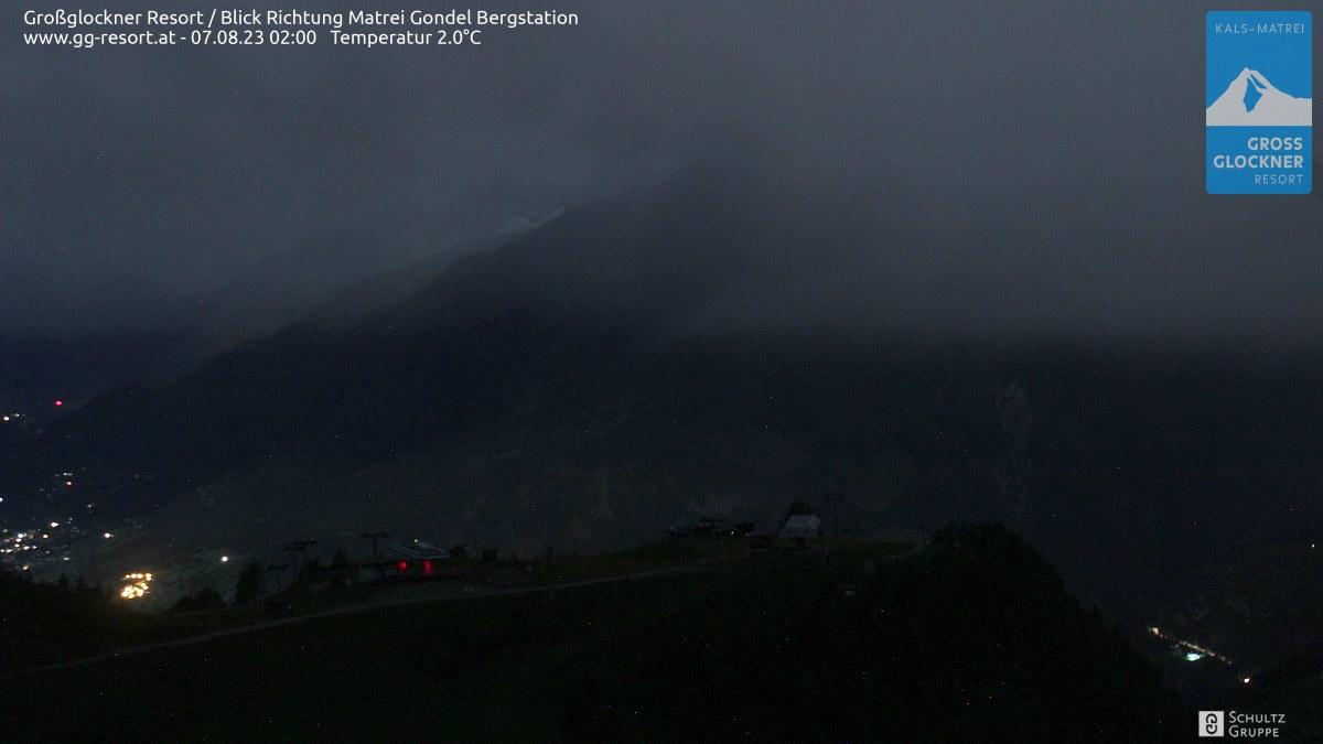Webcam Skigebiet Großglockner Resort Matrei in Osttirol  Bergstation (2.190 m)