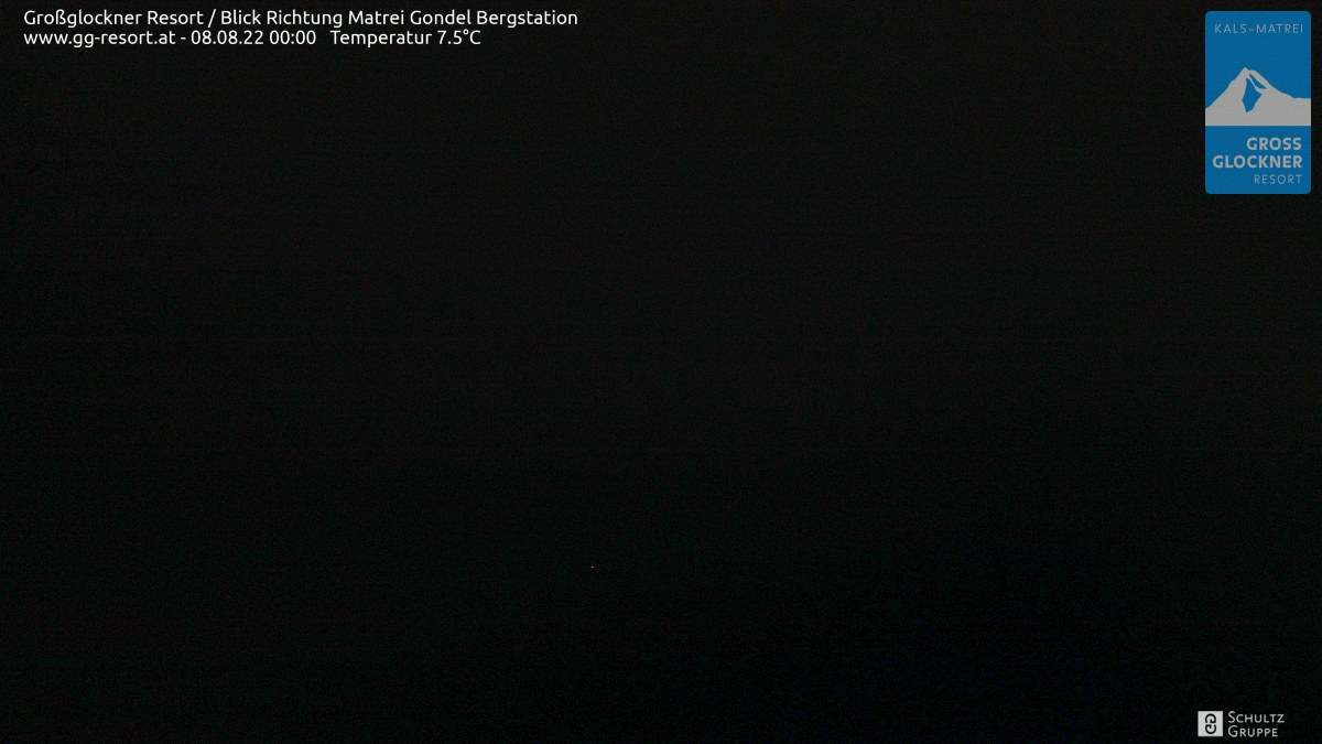 Webcam Großglockner Resort Matrei in Osttirol  Bergstation (2.190 m)
