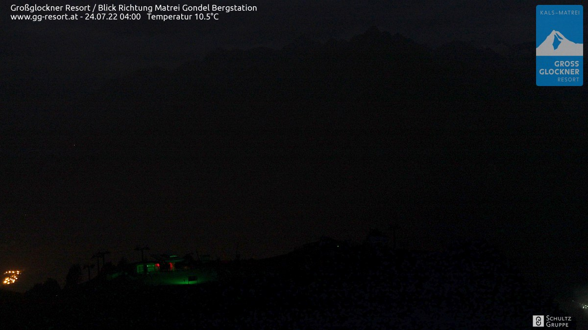 Webcam Skigebiet Großglockner Resort Matrei in Osttirol  Bergstation (2.190 m)