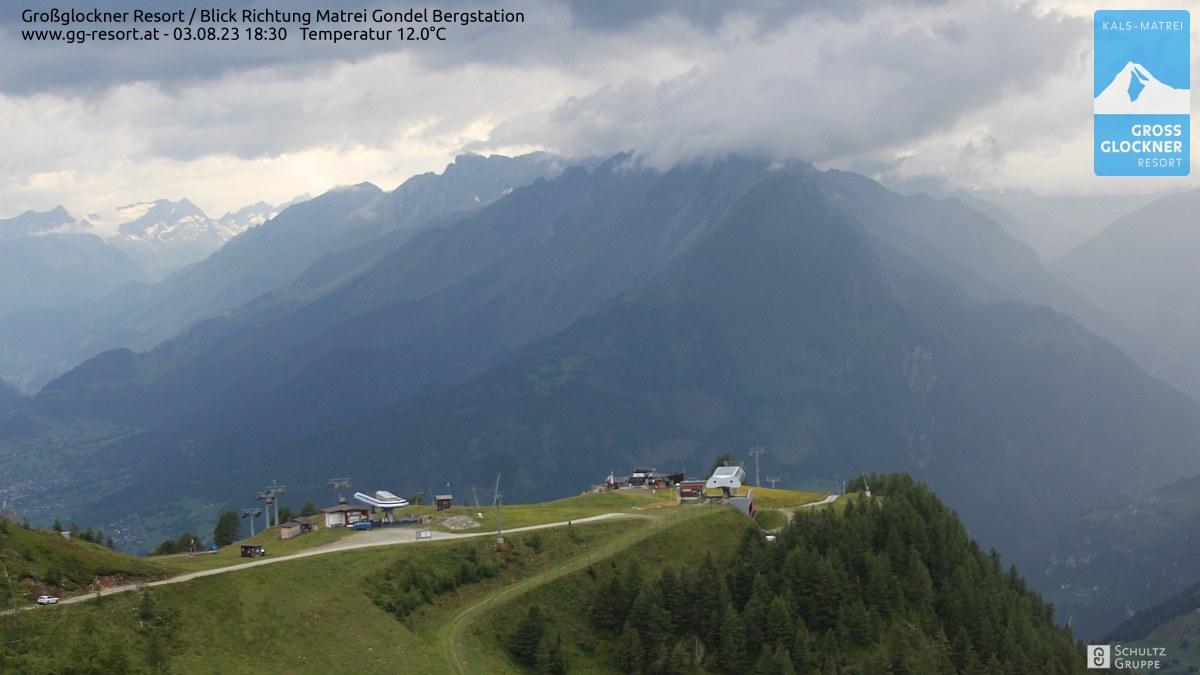 Webcam Großglockner Resort Matrei in Osttirol  Bergstation (2.190 m)