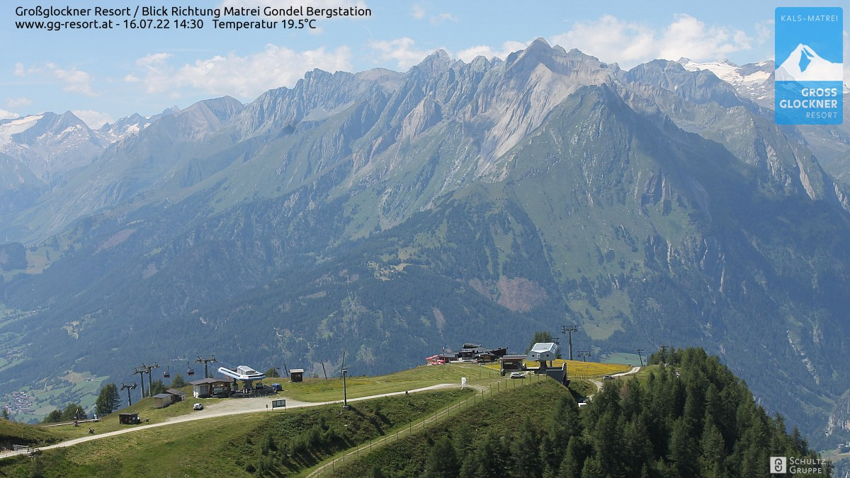 Webcam Skigebiet Großglockner Resort Matrei i.O   © www.gg-resort.at